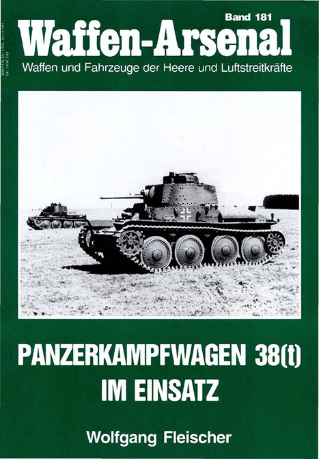 Panzer 38(t) – Waffen Arsenal 181   History Around the Net   Scoop.it