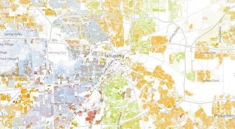 Population Distribution Map Shows Shocking Modern Segregation | Segregation: A Look Back | Scoop.it