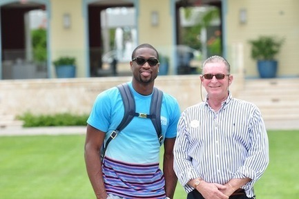 Dwyane Wade Visits Turks and Caicos - Caribbean Journal | turks and caicos | Scoop.it
