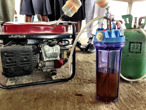 urine powered electricity generator at maker faire africa | designboom | AL_TU research | Scoop.it