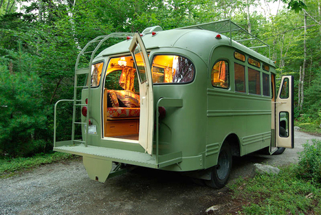 6 buses transformed into incredible homes on wheels | Heron | Scoop.it
