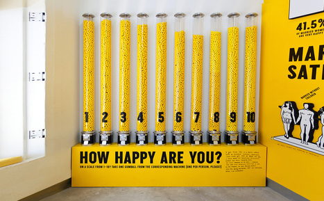 [exposition] The Happy Show - Sagmeister & Walsh | [data visualization] In Data We Trust | Scoop.it