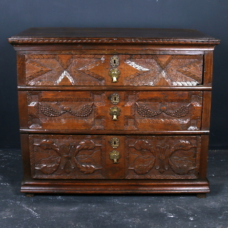 Wonderful Oak Chest of Drawers - Antique NEW STOCK | Antique Painted Furniture UK | Scoop.it