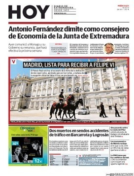 Antonio Fernández renuncia al cargo de consejero de Economía de la Junta   Exportamos???   Scoop.it