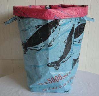 Eco-friendly Laundry Bag, handmade ethically By Disabled Home Based Workers | RECYCLED ART, PRODUCTS AND THINGS | Scoop.it