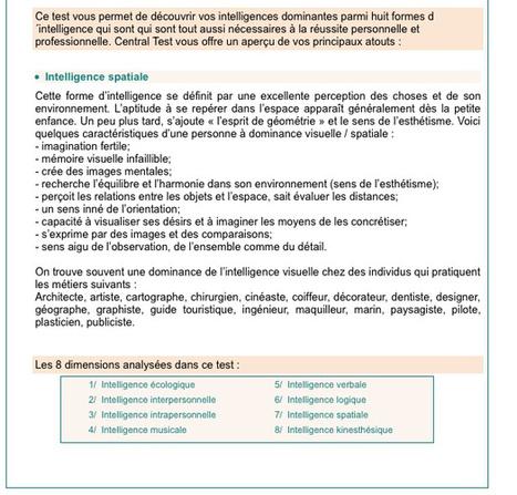 Tester ses intelligences   Les outils d'HG Sempai   Scoop.it