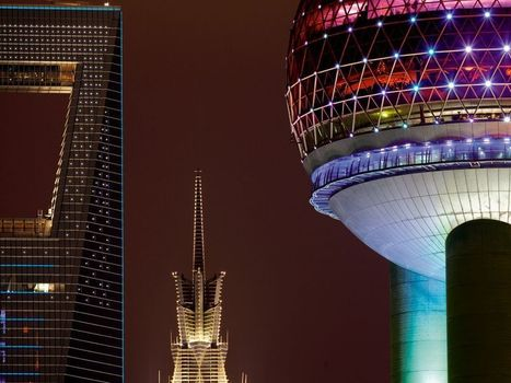 Shanghai Skyline | the floyd tachyon architecture system | Scoop.it