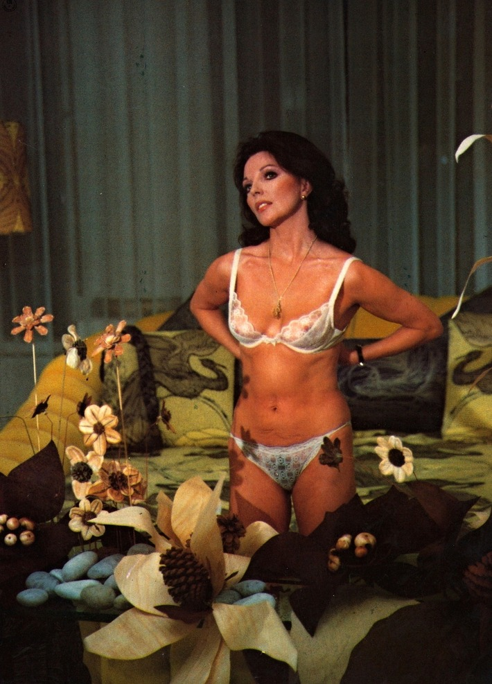 Joan Collins in Bra & Panties | Lingerie Love | Scoop.it