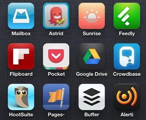 10 applications mobile indispensables pour un Community Manager ...!!! | Les smartphones : pour mieux travailler ? | Scoop.it