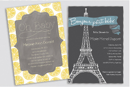 Get Your Beautifully Printed Cards at Pure Hoopla | Pure Hoopla -  Baby Shower invitations, Baby Shower Products | Scoop.it