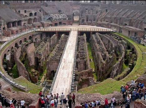 El Coliseo Romano, lugar de los gladiadores en la antigua Roma   La Arquitectura Durante la Edad Media   Scoop.it