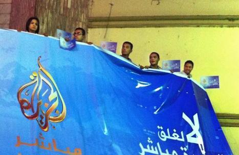 La justice égyptienne ferme Al-Jazeera-Egypte et la TV des Frères musulmans | DocPresseESJ | Scoop.it