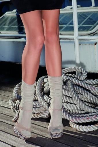 Tunna sockor i bomull Rib från Trasparenze | strumpbyxor boutique | Scoop.it