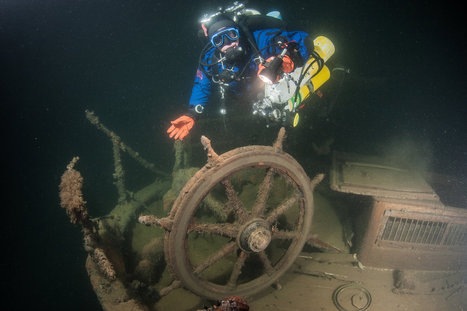 Exploring shipwrecks in the Gulf of Finland - Red Bull (International) | DiverSync | Scoop.it