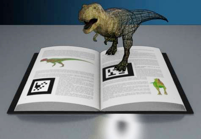 Ejemplo sobre el uso de la realidad aumentada sobre un libro | Realidad aumentada aplicada a la educación | Scoop.it