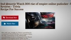 2nd @movie Watch 300 rise of empire online putlocker -User Reviews - Trivia   Watch LEGO Movie Online   Scoop.it