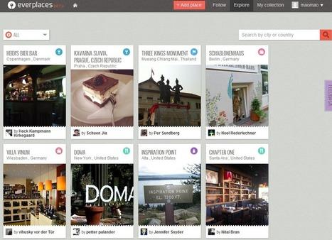 Everplaces:发现并收藏你喜爱的旅行地点和记忆 | 爱游观察 | Travel Apps | Scoop.it