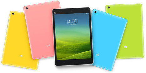 Xiaomi Mi Pad Tablet with Tegra K1 Processor, 64GB Flash Sells for $120 (Promo) | Embedded Systems News | Scoop.it