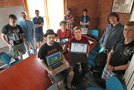 Students train to become video game designers | Trains | Scoop.it