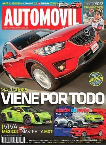 Download Automovil Panamericano – October 2012 - PDF Magazine   Fabricación Automotriz   Scoop.it