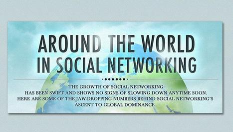 [#infographie] Petit tour du monde des réseaux sociaux ! | infographie | Scoop.it