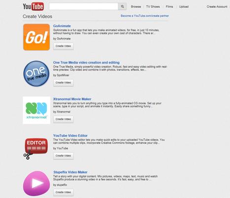 YouTube - Create Videos Yourself! | Ed tech | Scoop.it