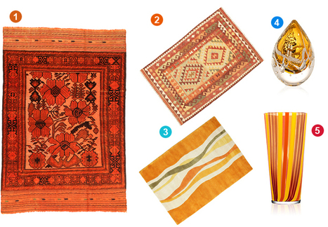 Exploring autumn   Inspiration and decorating with Handmade carpets   Scoop.it