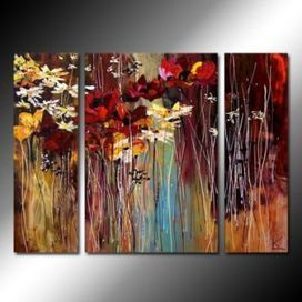 Flowering Season Oil Painting - Set of 3 - Free Shipping - Oilpainting-shop.com | OilPainting-Shop.com | Scoop.it