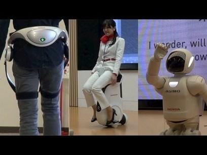 Honda Motor wants to put an assistant robot in every household | Huippujutut ja muut tärkeät | Scoop.it