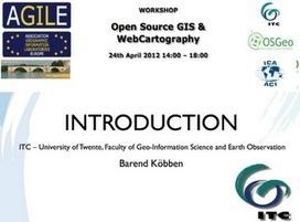Disponible el material del Open Source GIS & WebCartography   CEREGeo - Geomática   Scoop.it