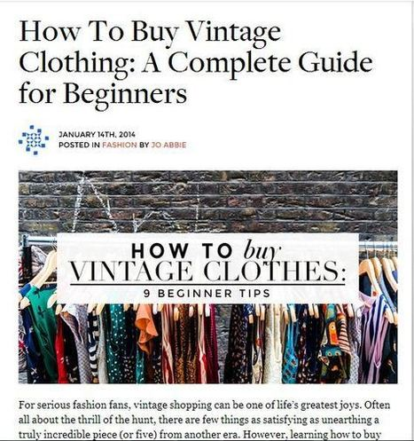 Style for the Ages: On Buying and Collecting Vintage Inspired Dresses | Pipley Boutique | Scoop.it