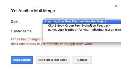 Emailing Large Groups of Students in 14 Steps | Googly | Scoop.it