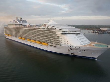 Giant, thy name is Harmony: World's largest cruise ship christened in Florida | TLC TravelS' Tours & Cruises! | Scoop.it