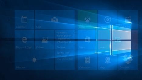 Windows 10: Microsoft pourrait enfin lancer des tuiles vraiment interactives | Cerje | Scoop.it