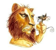 """The lion and the mouse story and exercise 