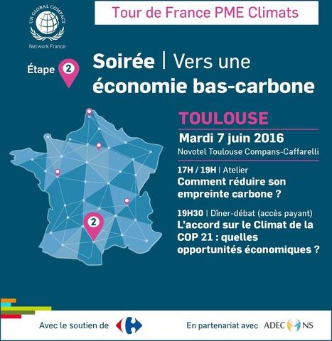 Vers une économie bas-carbone - Le 7 juin 2016 à Toulouse | La lettre de Toulouse | Scoop.it