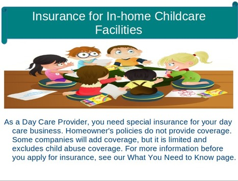 Insurance for In-home Childcare Facilities | Insurance Company | Scoop.it