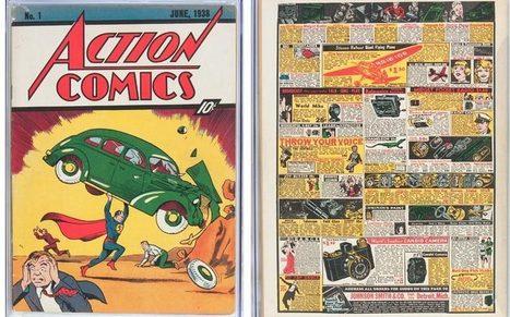 Action Comics #1 CGC 5.5 sold for almost $1,000,000 | Comic Book Trends | Scoop.it