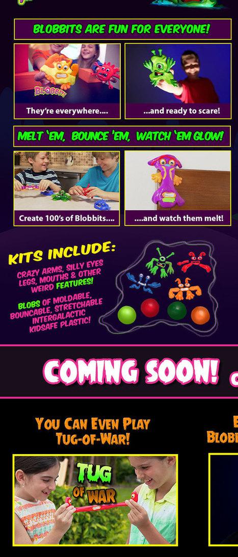 Blobbits – Toy that melts | Blobbits Moldable Meltable Creature | Scoop.it