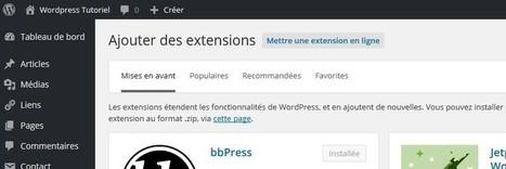 [WORDPRESS 4.4.2] Comment installer une extension Wordpress (3 techniques différentes) ?   Freewares   Scoop.it