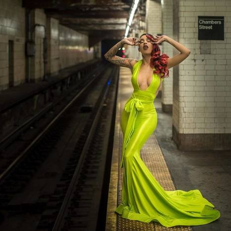 Underground NYC Portrait Series by Aaron Pegg | PhotoHab | Scoop.it