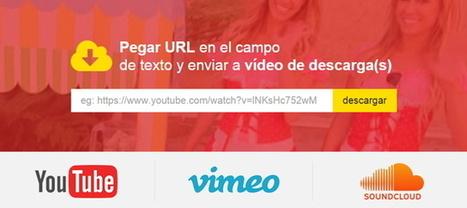 SaveDeo, una forma sencilla de bajar vídeos de Internet   MECIX   Scoop.it