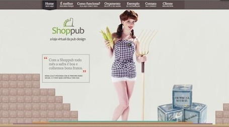 10 Websites with Vintage Inspired Designs | timms brand design | Scoop.it
