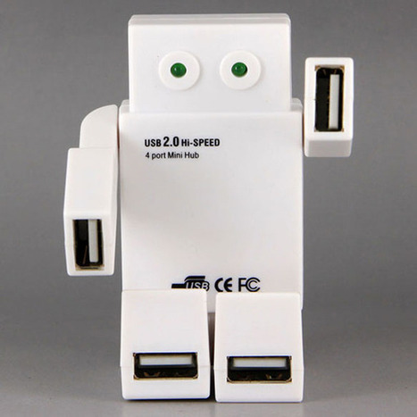 Robot USB Hub: No Transformer But Still Cooler than Yours   All Geeks   Scoop.it