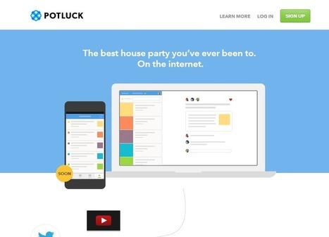 Potluck, la nueva red social de los creadores de Twitter | Connected | Scoop.it