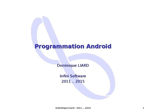 Programmation Android [Initiation] | Time to Learn | Scoop.it