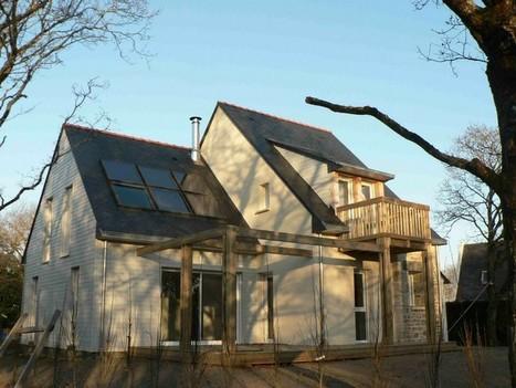 Maison bioclimatique à Locoal Mendon | architecture..., Maisons bois & bioclimatiques | Scoop.it