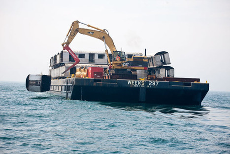 Photos of Retired Subway Cars Being Dumped Into the Atlantic Ocean | xposing world of Photography & Design | Scoop.it