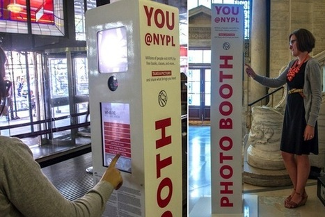 New York Public Library Introduces Photo Booths For Visitor Selfies - PSFK | PhotoBooth | Scoop.it