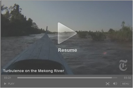 Turbulence on the Mekong River | Geography 400 at ric | Scoop.it